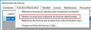 Générer email