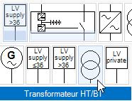 Transfo HT/BT avec une licence sans module HT